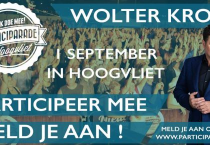 Wolter Kroes op Participarade